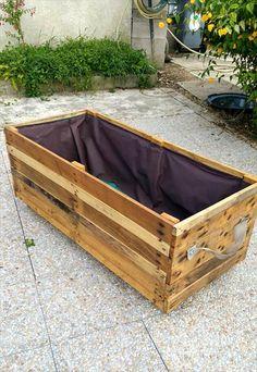 2 X 6 X 32 High Rolling Planter Box On Wheels Raised Bed 400 x 300