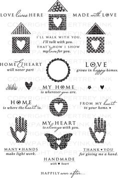 Paper Trey Ink stamps...so cute!
