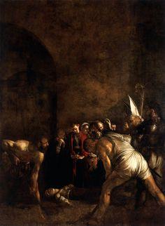 Caravaggio Burial of Saint Lucy, 1608 Chiesa di Santa Maria alla Badia, Syracuse