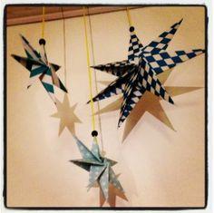DIY Foldet stjerne - ByFonna