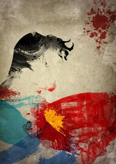 Abstract portraits of famous super heroes, digitally produced by Arian Noveir.    Arian is a French designer, illustrator and photographer.    Main site: http://www.noveir.com/#