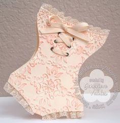 corset card