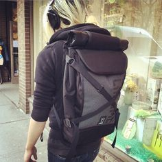 Bravo Night Rolltop Backpack by Chrome #Backpack, #Reflective, #Waterproof