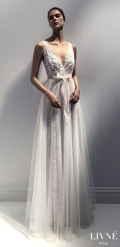 Livné White 2019 Wedding Dress - Eden Bridal Collection -TRACY