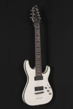 Special Offers Available Click Image Above: Used Schecter Guitar Research Hellraiser Electric Guitar White 886830603501 Schecter Guitars, Hillbilly, Music Stuff, Bass, Porn, Electric, Music Instruments, Metal, Image