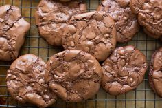Barefeet In The Kitchen: Flourless Chocolate Brownie Cookies
