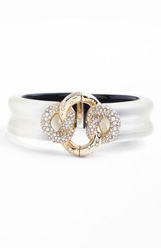 Alexis Bittar Mod Knot Bracelet available at #Nordstrom By far my most favorite jewelry designer - after Azza Fahmy that is! beautiful, intricate pieces!