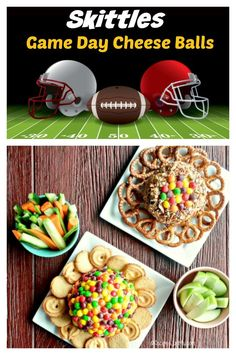 Your party friends will love to dig into these game day cheeseballs. Made with two types of Skittles candy - sweet and sour - they are the perfect party appetizer for the big day. #superbowl #gameday #biggame #cheeseballs Skittles Game, Cranberry Cheese, Sour Taste, Cheese Ball Recipes, Sour Candy, Most Delicious Recipe, Cookbook Recipes, Best Breakfast, Appetizers For Party