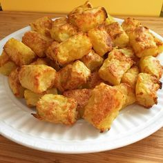 Oil-free tater tots.  The recipe is missing an important step: season the shredded potatoes before forming the tots.