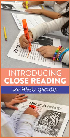 Close reading in fir