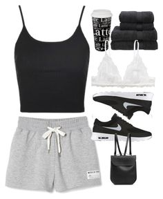 """""""Freedom"""" by ali-marsilla ❤ liked on Polyvore featuring Topshop, NIKE, Könitz, Christy, Monki and GRETCHEN"""