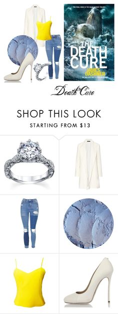 """The Death Cure"" by wolfiestilinski23 on Polyvore featuring The Row, Topshop, Versus and Dsquared2"
