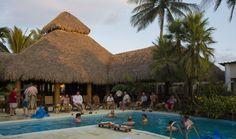 Pool, rancho, boutique hotel, Pacific coast, Guatemala, fishing lodge