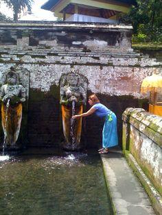 Sacred water temple - Ubud, Bali