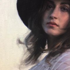 Detail of @lipking 's painting  of his wife ... stunning #jeremylipking  #art #portraitpainting #portrait #art  #instaart #fineart