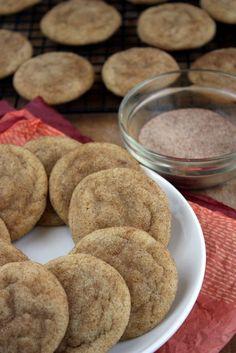 brown butter snickerdoodle cookies | thekitchenpaper.com