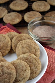 brown butter snickerdoodle cookies | thekitchenpaper.com