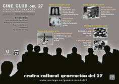 Publicidad cine en la Generación del 27.