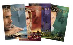 Above the Line Series by Karen Kingsbury