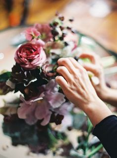 Saipua   Floral Design   Deep Purples   Photo by Jen Huang (jenhuangblog.com)