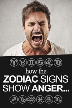 How Each Zodiac Sign Shows Anger…