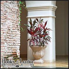 Linhaven Urn #designideas #homedecor #gardening #hooksandlattice #giftideas