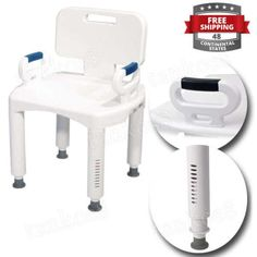 Medical-Bench-For-Bath-Back-Arms-Chair-For-Shower-Seat-Safety-Portable-Nonslip