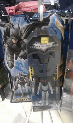 Batman The Dark Knight Rises -QuickTek Flight Strike Batman Figure