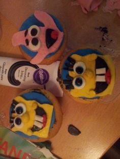 Spongebob bake with kids