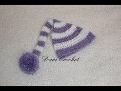 DomiCrochet: Háčkovaná elfská čiapka
