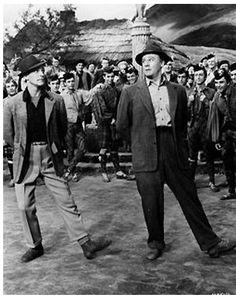 Gene Kelly and Van Johnson-----BRIGADOON