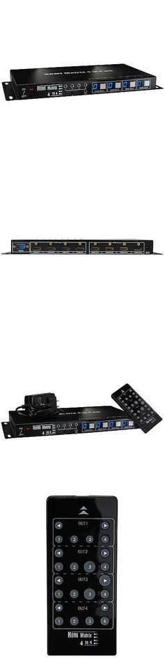 Splitters and Combiners: Hdmi Super Slim 4X4 True Matrix -> BUY IT NOW ONLY: $299 on eBay!