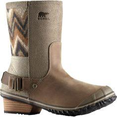 Sorel - Slimshortie Boot - Women's - Pebble/Silver Sage