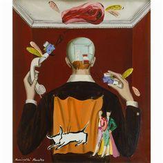 Value of the meat by Kuniyoshi Kaneko