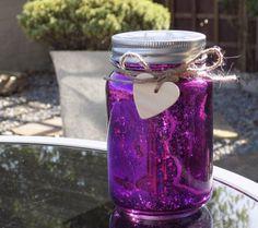 Firefly Mason Jar - Purple