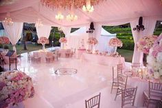 How to decorate a wedding tent - wedding reception decor Bali Wedding, Magical Wedding, Tent Wedding, Wedding Reception Decorations, Wedding Themes, Wedding Bells, Our Wedding, Wedding Flowers, Wedding Venues