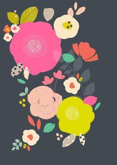 modern florals | susan driscoll