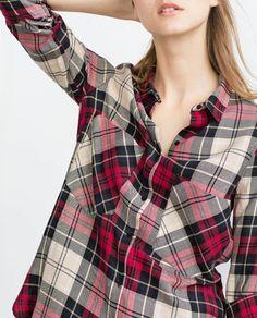 Image 5 de CHEMISE AVEC POCHES AVANT de Zara