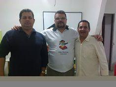 PROF. FÁBIO MADRUGA: PROF. FÁBIO MADRUGA RECEBE VISITA DE AMIGO LIU / S...