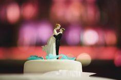 Bonecas de uma dança bolo de casamento Foto Premium