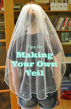 If I were to have a veil, this is how I would do it (of course, because I love DIY-ing my own stuff!)  But I would def make a three tiered veil :)