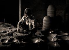 Terracotta Pot Maker by George Barker, via 500px