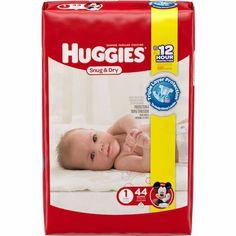 Huggies Snug & Dry Diapers Super Packs ONLY $12.99/Each At Target!