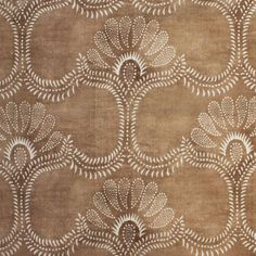 Odessa in Mastic from Paolo Moschino for Nicky Haslam #fabric #textiles #cotton #linen #brown
