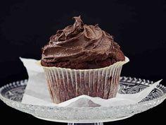 Suklaakuorrutetut muffinit Coffee Cake, Brownies, Nom Nom, Muffins, Cheesecake, Cupcakes, Sweets, Snacks, Cookies