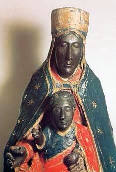Black Madonna found in Tindari, Sicily