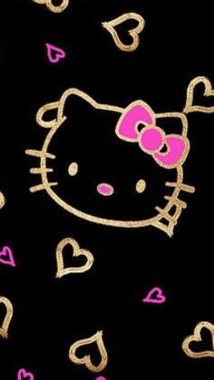 430 Best Black Hello Kitty Images Hello Kitty Wallpaper Walpaper