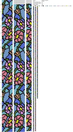 Photo - Another! Crochet Bracelet Pattern, Loom Bracelet Patterns, Crochet Beaded Bracelets, Bead Crochet Patterns, Beading Patterns Free, Bead Crochet Rope, Bead Loom Bracelets, Peyote Patterns, Friendship Bracelets Designs
