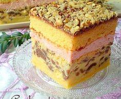 baking powder tsp Dough f Polish Desserts, Polish Recipes, Russian Desserts, Russian Recipes, Pastry Recipes, Cake Recipes, Dessert Recipes, Potica Bread Recipe, Traditional Cakes