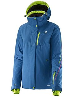 Salomon Womens Brilliant Jacket Dolomite Blue Medium * You can find out more details at the link of the image.(This is an Amazon affiliate link and I receive a commission for the sales)